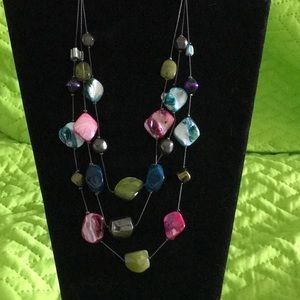 Jewelry - Necklace with mock stones